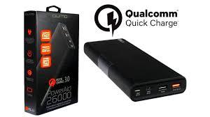 Внешние аккумуляторы с быстрой зарядкой <b>QUMO PowerAid</b> ...