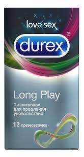 Durex <b>презервативы с анестетиком long</b> play - купить в Москве по ...
