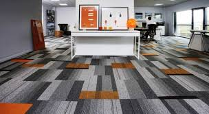 large commercial floor carpet tiles with line pattern carpet style also beautiful grey color scheme carpet tiles home office carpets
