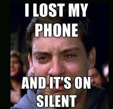 lost my phone and its on silent - Dump A Day via Relatably.com