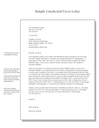 templates unsolicited cover letter sample  resume ideas      resume design