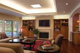 traditional family room by hartmanbaldwin designbuild ambient lighting ideas