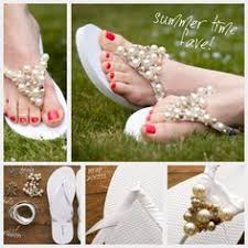 71 Best Flip Flops, Sandals & Anklets images | Flat sandals, Flat ...
