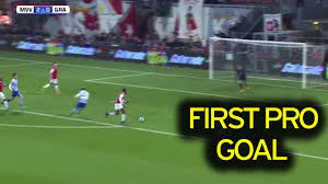 arsenal loanee kelechi nwakali shows gunners fans exactly what video thumbnail arsenal loanee scores first professional goal