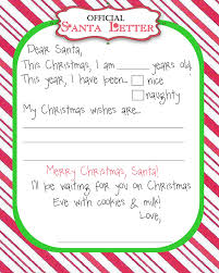 letter from santa template word informatin for letter letters to santa templates printable best business template