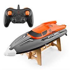 <b>601 2.4G High-speed Remote</b> Control Boat Orange One Battery RC ...