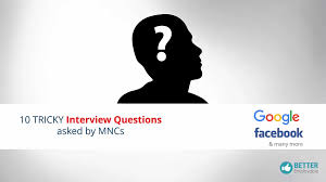 tricky 10 interview questions asked by mncs video dailymotion 14 28