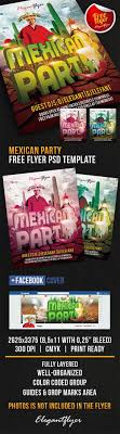 mexican party flyer psd template facebook cover by mexican party flyer psd template facebook cover