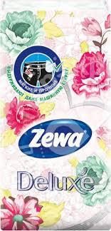 Купить <b>Носовые платки Zewa</b> Deluxe 3 слоя 10шт с доставкой на ...