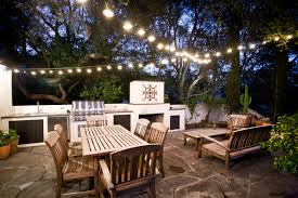 contemporary patio by chelsea construction corporation backyard string lighting