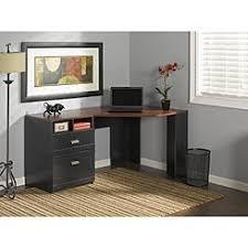 bush furniture bush wheaton corner computer desk in antique black bush saratoga computer desk