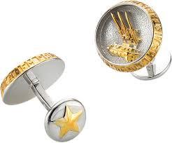 Серебряные <b>запонки KU&KU 1527721A-0-6</b> — купить в интернет ...