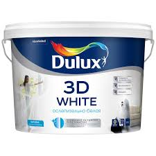 <b>Краска</b> интерьерная <b>Dulux</b> 3D White матовая ослепительно ...