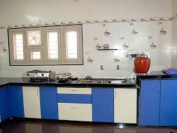 modular kitchen colors: nice blue white modular kitchen color