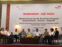 market access for the poor supporting households in processing and even basic hygiene and sanitation actively seeks other partners and potential donors to scale up this success says le anh tuan