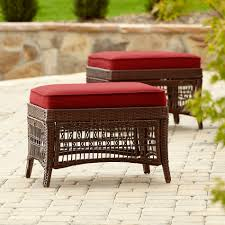 outdoor ottomans  patio ottomans  sears