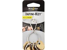 Кольцо для ключей <b>Nite Ize Infini</b>-<b>Key</b> Key Chain Stainless