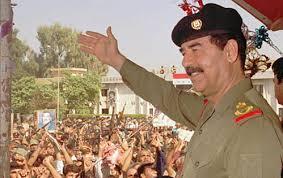 Resultado de imagem para Saddam Hussein