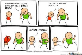 Bear Hug Vs Bare Hug....know The Difference by dragonslayer96 ... via Relatably.com