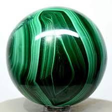 "Amazon.com: 2.25"" Malachite Sphere <b>Green</b> Banded <b>Natural</b> Crystal ..."