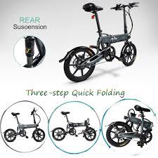 <b>FIIDO D2</b> 16 inch Folding <b>Electric Bike</b> w- Buy Online in Cambodia ...