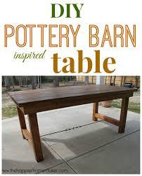 pottery barn style dining table: pottery barn table diy pottery barn table diy pottery barn table diy
