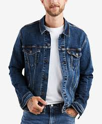 Levi's Men's <b>Denim Trucker Jacket</b> & Reviews - Coats & Jackets ...