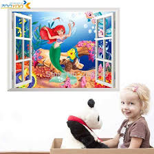 1 Pcs Seabed <b>Fish</b> Bubble NEMO <b>Wall Sticker Cartoon Wall Sticker</b> ...