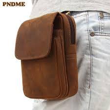 #<b>pndme</b> #<b>vintage</b> #<b>crazy</b> #horse #cowhide #men's #waist #packs ...