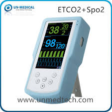Mainstream Sidestream <b>Handheld End-Tidal CO2 Etco2 Monitor</b>