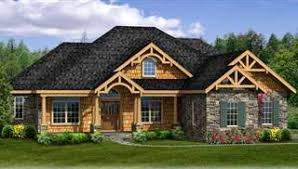 Ranch House Plans  amp  Designs   Simple  amp  Craftsman Styles  THDimage of STURBRIDGE II  CAR  amp  WALK OUT House Plan