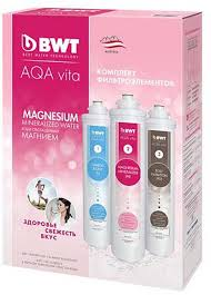 <b>Комплект</b> cменных <b>картриджей</b> для фильтра <b>BWT</b> Aqa Vita ...