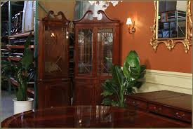 Dining Room China Cabinets Willow Valley Dining Room Corner China Cabinet Wv4147 At Penny