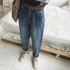 <b>Vintage</b> Chic <b>Boyfriends Harem Jeans</b> Women Plus Size Elastic ...