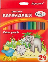 Набор <b>карандашей Гамма Мультики</b>, 050918_09, 24 цвета ...