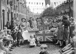 Image result for images of WW2 street parties