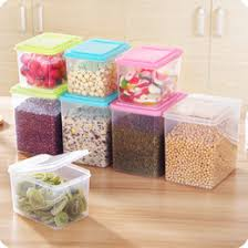 kitchen containers for sale new food snack storage box organizer sealed crisper grains tank cans container with a lid for food kitchen accessories