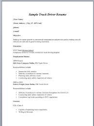 driver resume format   sample resumeprofessional driver resume