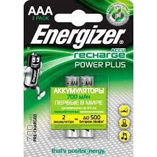 Купить Аккумулятор <b>Energizer</b> Power Plus AAA 700mAh <b>2шт</b>. в ...