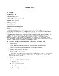 cover letter merchandising planner