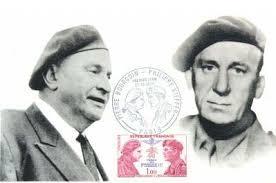 PHILIPPE KIEFFER et PIERRE BOURGOIN. Le point. l'appel : 22 juin 1940. Massage après Bir-Hakeim : 11 juin 1942 - PHILIPPEKIEFFER