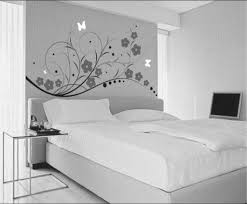 master bedroom ideas colors design white wall bedroom decor with flower wall sticekr also master bed insi