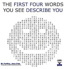 the first four words you see describe you politicaljack com the first four words you see describe you