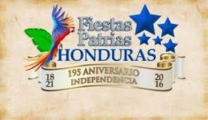 Image result for clausura de las fiestas patrias honduras