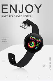 <b>2019 New Smart Watch</b> IP68 Waterproof Heart Rate Blood Pressure ...