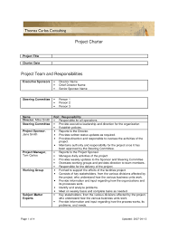 project charter template doc how to create good project charters project charter template printable project charter examples