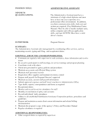 administrative assistant resume examples entry level sample administrative assistant resume examples entry level entry level resume objective examples assistant duties resume administrative assistant