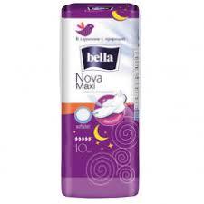 <b>Прокладки Bella Nova</b> Maxi <b>softiplait</b> air по 10 шт белая линия ...