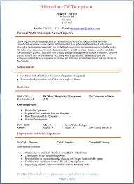 librarian cv template   tips and download – cv plazalibrarian cv template