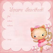 th birthday ideas girl birthday invitations templates girls birthday party invitation templates